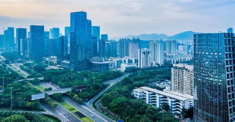 city of Shenzhen