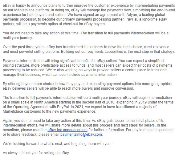 ebay adyen announcement