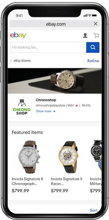 ebay algorithm 2018