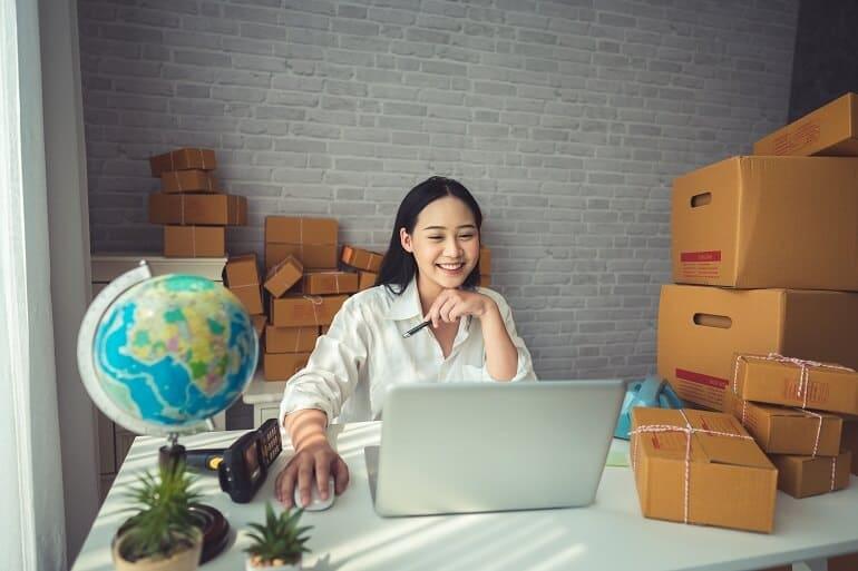 Drop shipping business