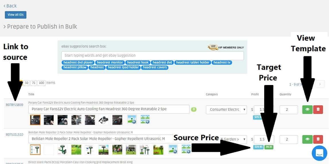 optimize eBay listings