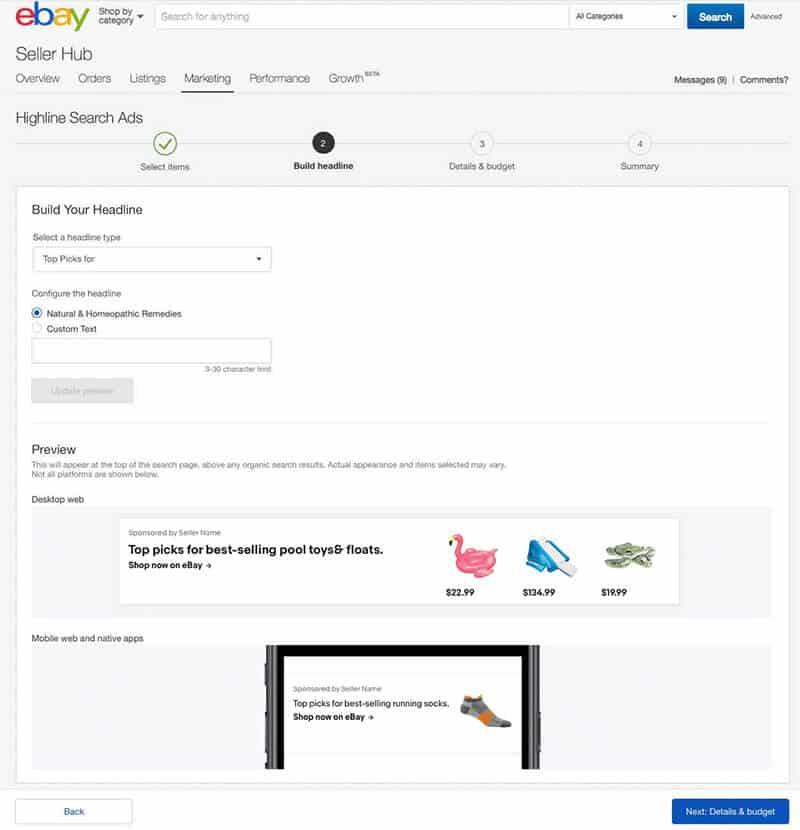 ebay sponsored advertising
