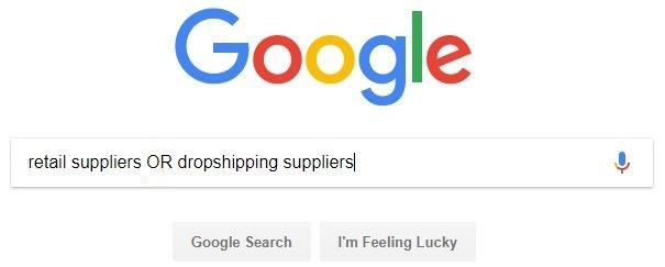 or search google advanced search