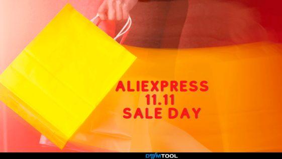Aliexpress 11.11 sale day